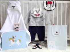 Комплекты для новорожденных. Рост: 50-60, 60-68, 68-74, 74-80, 80-86, 86-98 см. Под заказ