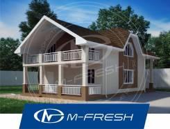 M-fresh Madagascar (Посмотрите сейчас этот проект компактного дома! ). 100-200 кв. м., 2 этажа, 4 комнаты, бетон
