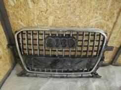 Решетка радиатора. Audi Q5, 8RB Двигатели: CAHA, CNBC, CGLB, CCWA, CDNB, CDNC, CALB