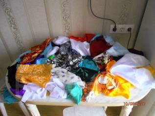 Лоскуты ткани.