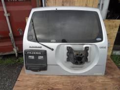 Дверь багажника. Mitsubishi Pajero, V75W Двигатели: 4M41, DI, 6G74, GDI