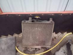 Радиатор охлаждения двигателя. Mitsubishi Pajero Junior