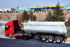 Ozgul. Полуприцеп самосвальный, 39 000 кг.