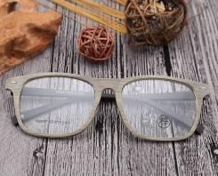Очки оправы из дерева.Проверка остроты зрения, бесплатно.