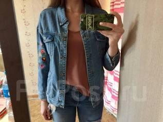 Куртки джинсовые. 40-44, 46