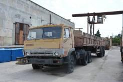 Камаз 5410. Седельный тягач с прицепом КаМАЗ 5410, 10 000 куб. см., 10 000 кг.