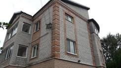 Продам дом или обеняю на квартиру. Улица Арсеньева 73, р-н Автобаза, площадь дома 300 кв.м., скважина, электричество 25 кВт, отопление электрическое...