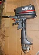 Yamaha. 5,00л.с., 2-тактный, бензиновый, нога S (381 мм), Год: 2005 год