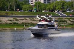Аренда моторной яхты. 8 человек, 60км/ч