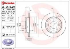 Диск тормозной Standard | зад | Brembo 08C17220