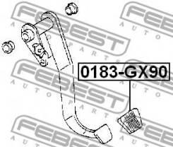 Накладка педали сцепления и тормоза 0183-GX90 Febest
