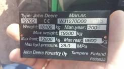 John Deere. Харвестер john deere 1270d, 17 500,00кг.