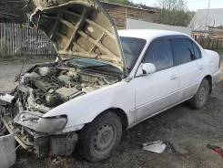 Продам заднийй бампер и крышку багажника Toyota Corolla