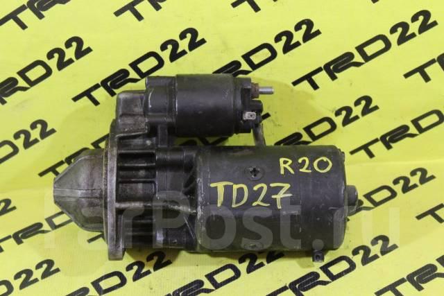 Стартер. Nissan Mistral, KR20, R20 Nissan Terrano II, R20, KR20 Двигатели: TD27T, TD27B, TD27TI, TD27BETI