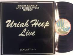 ЮРАЙ ХИП / Uriah Heep - Live January 1973 - 1973 АТ 2LP PINK RIM