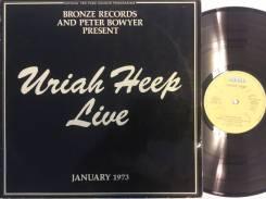 ЮРАЙ ХИП / Uriah Heep - Live January 1973 - 1973 DE 2LP