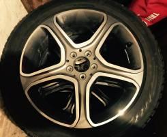 Продам комплект колес (резина + диски). 7.5x19 5x112.00 ET47