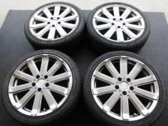Комплект литых колес Leasing с летней резиной 225/40R-18. 7.5x18 5x114.30 ET42 ЦО 73,0мм.