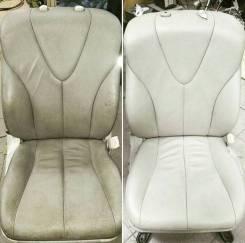 Ремонт, реставрация, покраска кожаных сидений. Ремонт салонов авто.