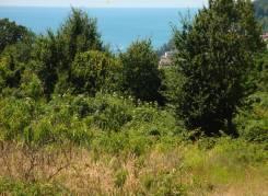 Участок 5 соток с панорамным видом на море. 500 кв.м., собственность, электричество, вода, от агентства недвижимости (посредник)