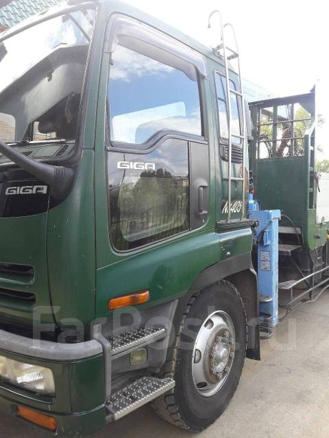 Isuzu Giga. Isuzu giga грузовик с краном 2002г 4WD, 19 000 куб. см., 12 000 кг.