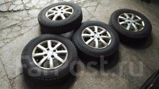 Продам комплект колес Bridgestone на литье 155-80-13. 5.5x13 4x100.00 ET45 ЦО 69,0мм.