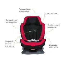Кресло детское автомобильное Swing Moon, группа 1/2, черно-красное AILEBEBE ALC453E