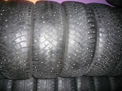 Michelin X-Ice North 2. Зимние, шипованные, 2012 год, износ: 20%, 4 шт