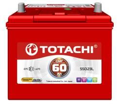 Totachi. 60А.ч., Обратная (левое), производство Корея