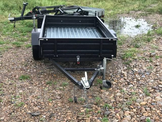 Легковой прицеп Ztrailer Black с/с 2.300x1.300 ТеRRитория прицепов. Г/п: 750 кг., масса: 157,00кг.