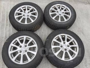 175/65 R14 Bridgestone Blizzak Revo GZ литые диски 4х100 (L15-1408). 5.5x14 4x100.00 ET45
