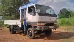 Mitsubishi Canter. 4WD мостовой рессорный с крановой установкой, 4 600 куб. см., 3 000 кг.
