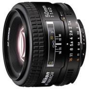 Nikon 50mm f/1.4D AF Nikkor. Для Nikon, диаметр фильтра 52 мм