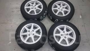 Продам отличный комплект колёс зима R14. 5.5x14 4x100.00 ET42 ЦО 70,0мм.