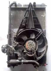Радиатор охлаждения двигателя. Opel Omega Двигатели: 20SE, U25DT, X20DTH, X20SE, X20XEV, X25DT, X25XE, X30XE, Y22DTH, Y22XE, Y25DT, Y26SE, Y32SE, Z22X...