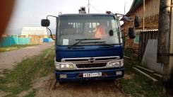 Hino Ranger. Продам отличный грузовик с манипулятором 2001 г/в,, 8 000 куб. см., 5 000 кг.
