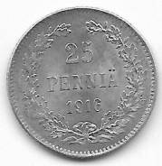 25 пенни 1916г. S