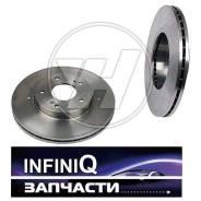 Диск тормозной. Infiniti: G35, FX35, M45, M35, G25, G37 Двигатели: VQ37VHR, VQ35HR, VQ35DE, VK45DE