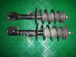 Амортизатор. Toyota Yaris, NCP91 Toyota Vitz, NCP91, SCP90, KSP90 Двигатели: 1NZFE, 2SZFE, 1KRFE