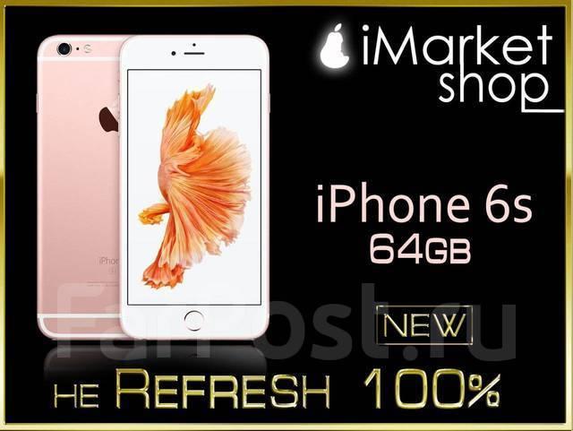 Apple iPhone 6s. Новый, 64 Гб, Черный