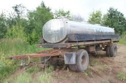 Сзап 8357. Прицеп цистерна (молоковоз), 8 300 кг.