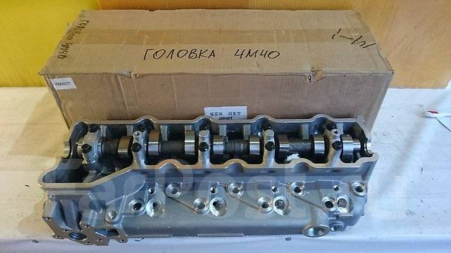 Головка блока цилиндров. Mitsubishi: 1/2T Truck, L200, Delica, Pajero, Nativa, Montero Sport, Montero, Pajero Sport, Challenger Двигатель 4M40. Под за...