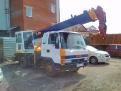 Isuzu Forward. Продам автокран, 7 127 куб. см., 5 000 кг., 22 м.