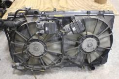 Радиатор охлаждения двигателя. Toyota Aristo, JZS161 Двигатель 2JZGTE
