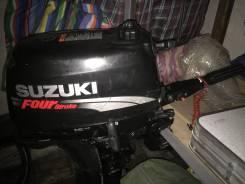 Suzuki. 5,00л.с., 4-тактный, бензиновый, нога S (381 мм), Год: 2008 год