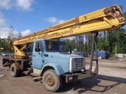 Мехпромстрой. Автовышка ВС-22а на базе ЗИЛ-433362, 2007 г. в., 6 000 куб. см., 22 м.