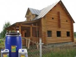 Огнезащитная обработка деревяных конструкций