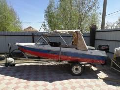 Крым-М. Год: 1981 год, длина 4,20м., двигатель подвесной, 30,00л.с., бензин