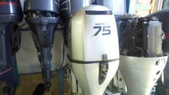 Honda. 75,00л.с., 4-тактный, бензиновый, нога L (508 мм), Год: 2010 год