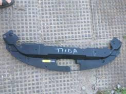 Дефлектор радиатора. Nissan Tiida, C13